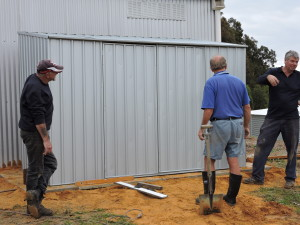 The finished shed
