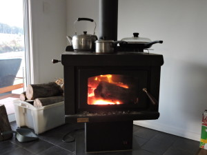 The wood heater
