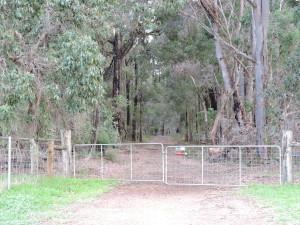 Mailman Road gate